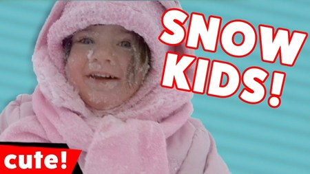 Funniest Kids Playing In The Snow Moments Weekly Compilation