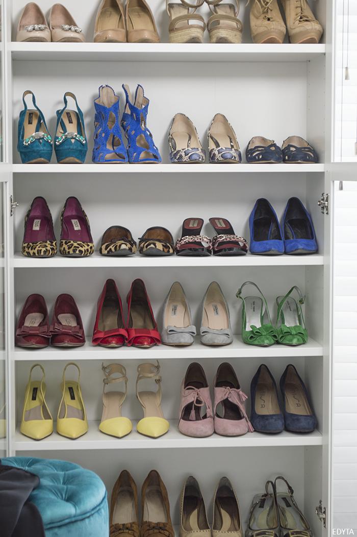 Edyta dise o decoraci n blog de decoraci n como se - Baldas para zapatos ...