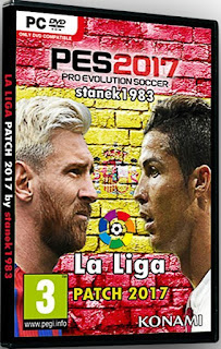 Patch PES 2017 Terbaru dari La Liga Patch 3.0 AIO