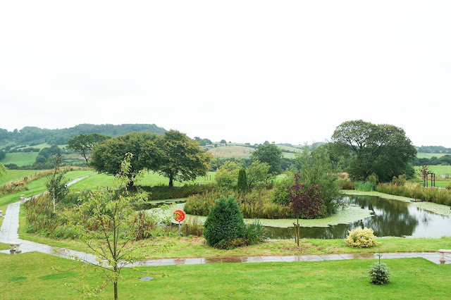 country house gardens view room