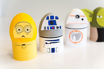 Sta Wars easter egg printables