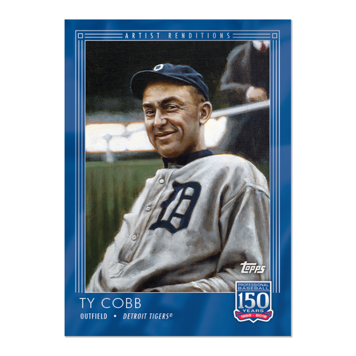 Johns Big League Baseball Blog Card Cornertopps 150 Ty Cobb