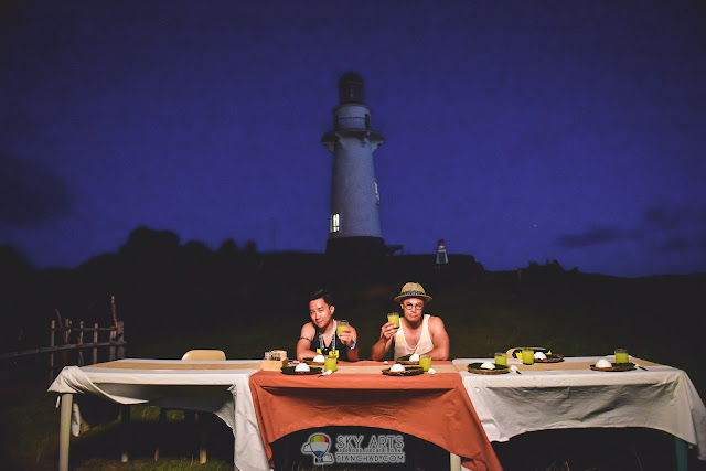 BASCO LIGHTHOUSE AT NAIDI HILLS BATANES CANDLE LIGHT DINNER