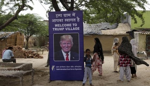"""NEW """"SHITLESS"""" INDIAN MUSLIM VILLAGE NAMED AFTER TRUMP"""