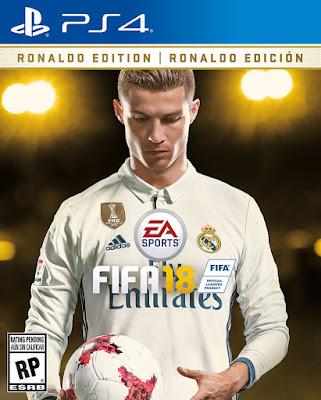 Cristiano Ronaldo Revealed as FIFA 18 Global Cover Star -holykey1.com