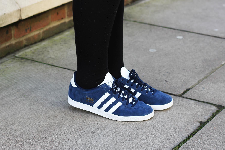 7288b90d2bb0 How I style my Adidas Gazelle s!
