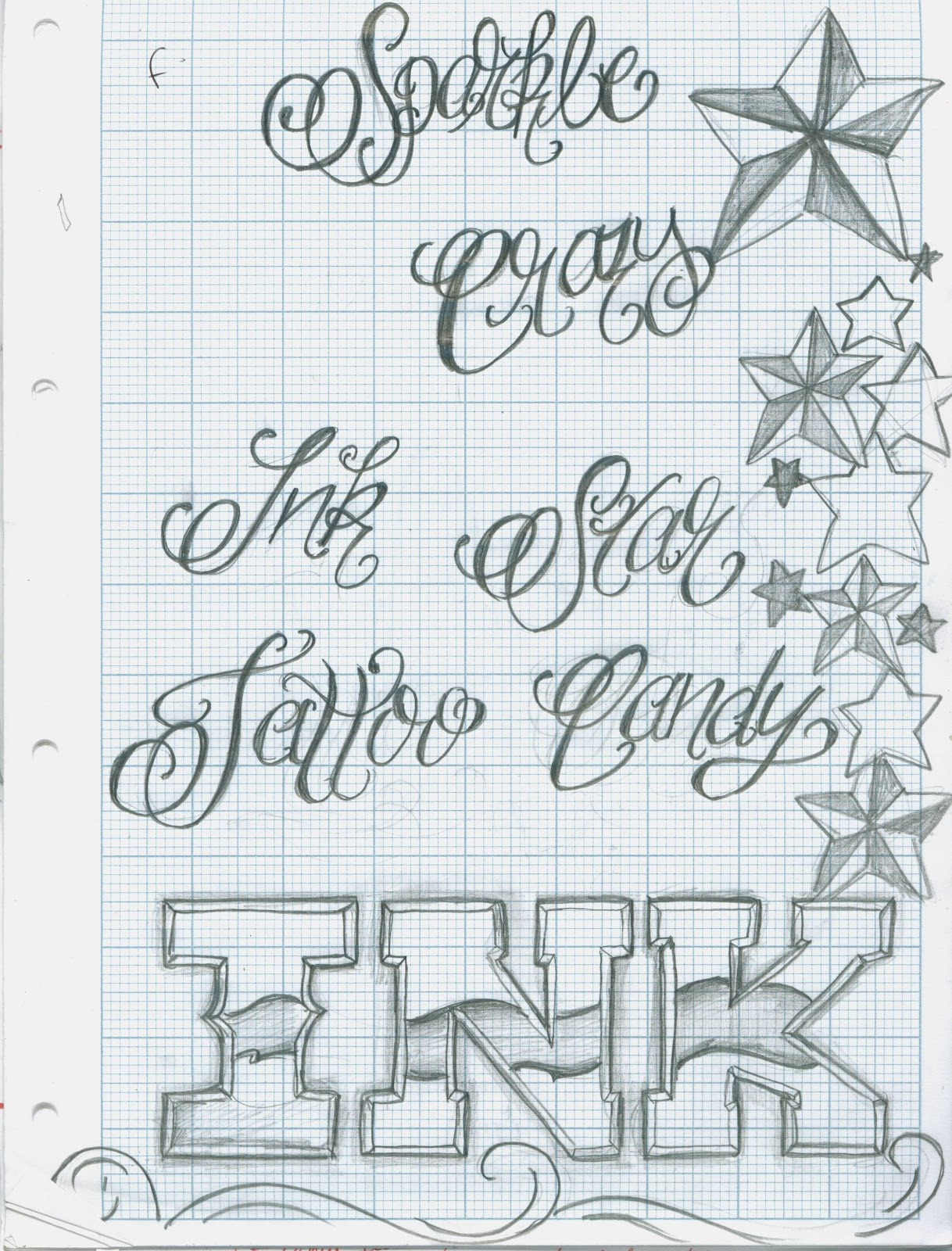 Tattoo Fonts: Tattoo Sexy: Ideal Tattoo Lettering