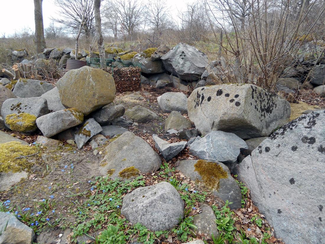 Spazio per rifiuti giardinicoli