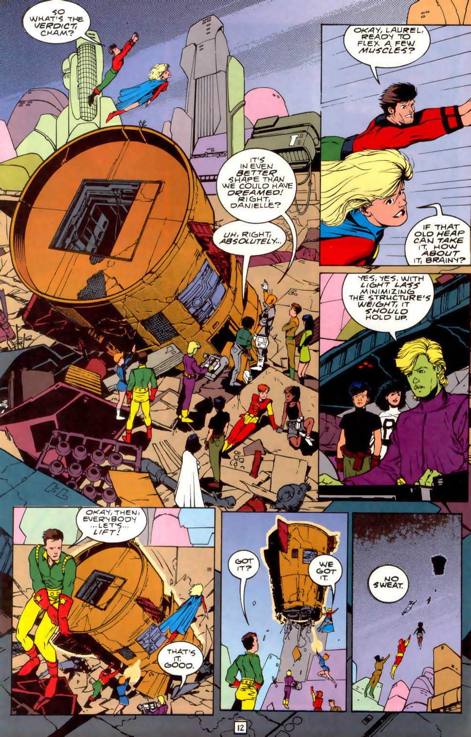 Legion of Super-Heroes (1989) 41 Page 12