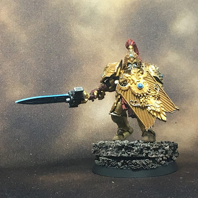 WIP Adeptus Custodes or Custodian Guard squad member 2 gallery shot front