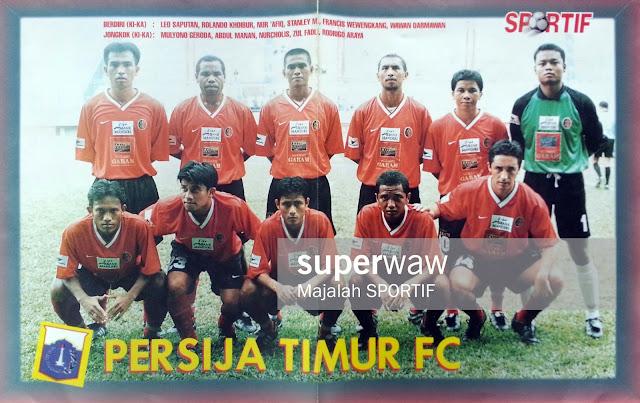 POSTER TIM PERSIJA TIMUR FC LIGA BANK MANDIRI