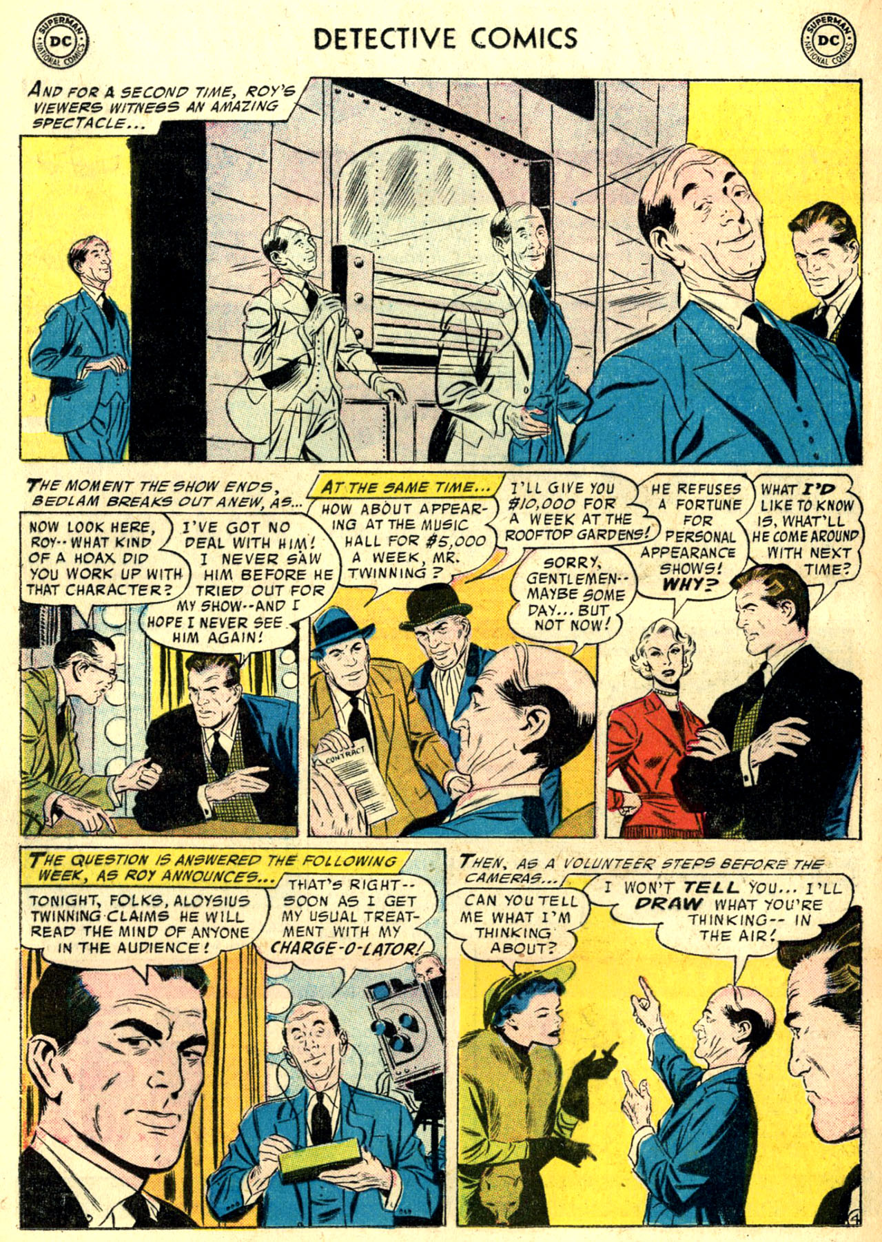Read online Detective Comics (1937) comic -  Issue #240 - 19