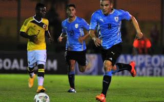 Uruguay U20 vs Colombia U20