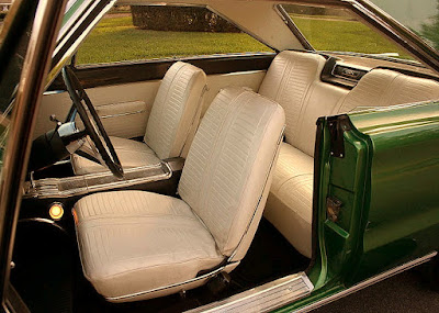 1967 Plymouth GTX 440 Magnum Sports Coupe Seat Front