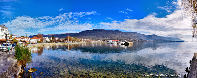 Panorama - Ohrid Lake, Macedonia