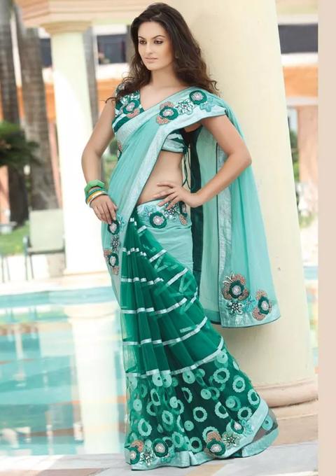 model baju sari india