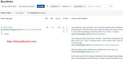 Cara mengetahui backlink website 3