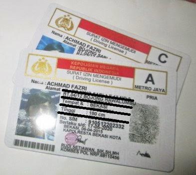 prosedur Pembuatan SIM A dan SIM C