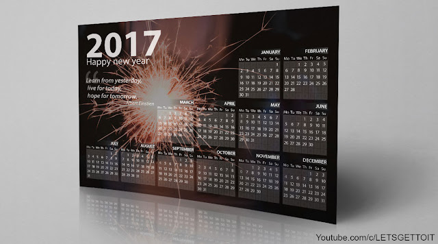 How to Make a Professional Calendar in Photoshop