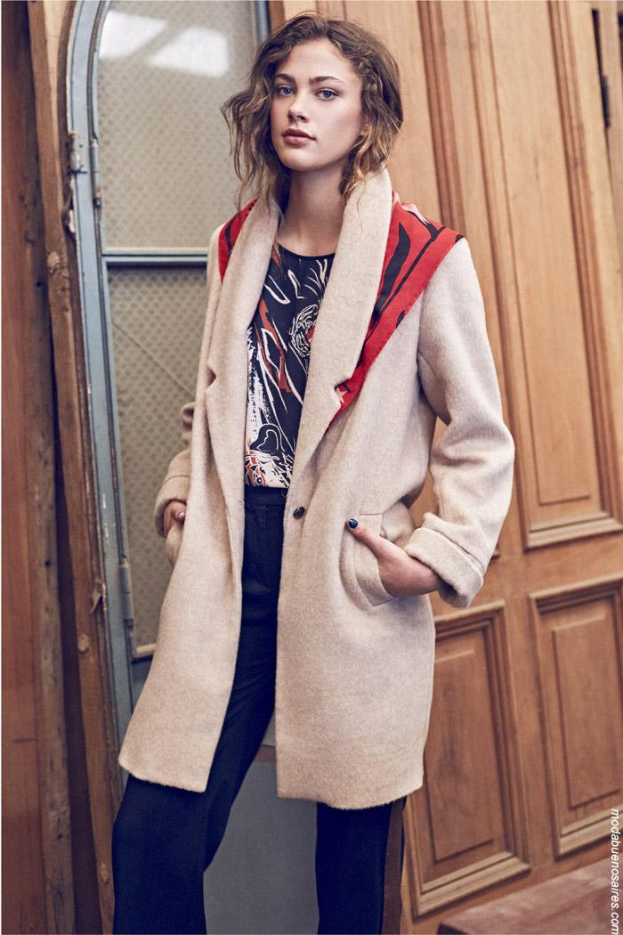 Tapados invierno 2019 moda mujer. Moda invierno 2019 argentina.