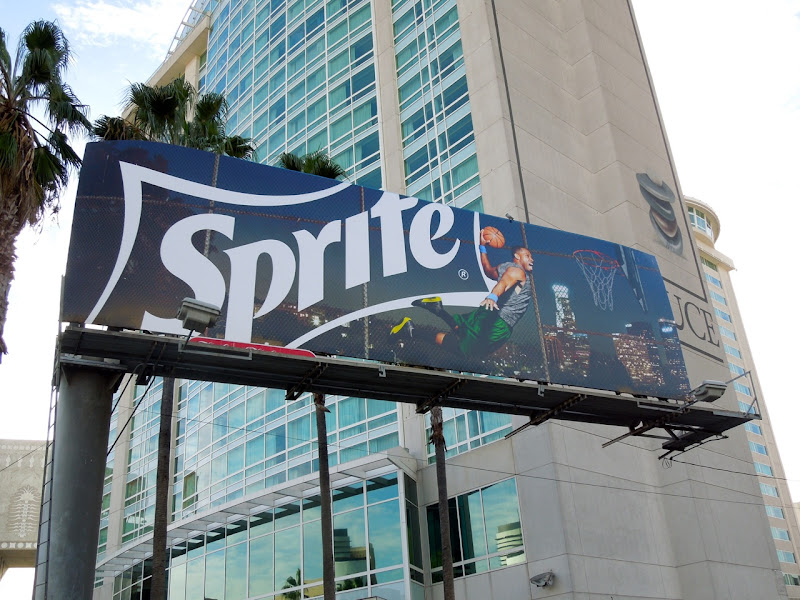 Sprite basketball billboard