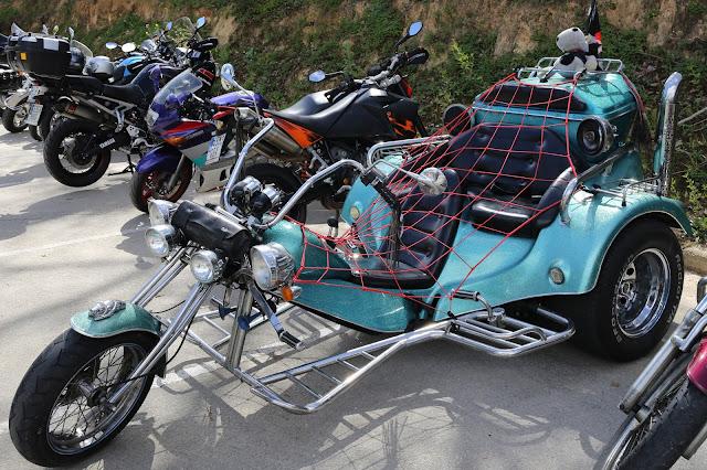 Motocicleta en concentración de Mairena del Aljarafe 2016