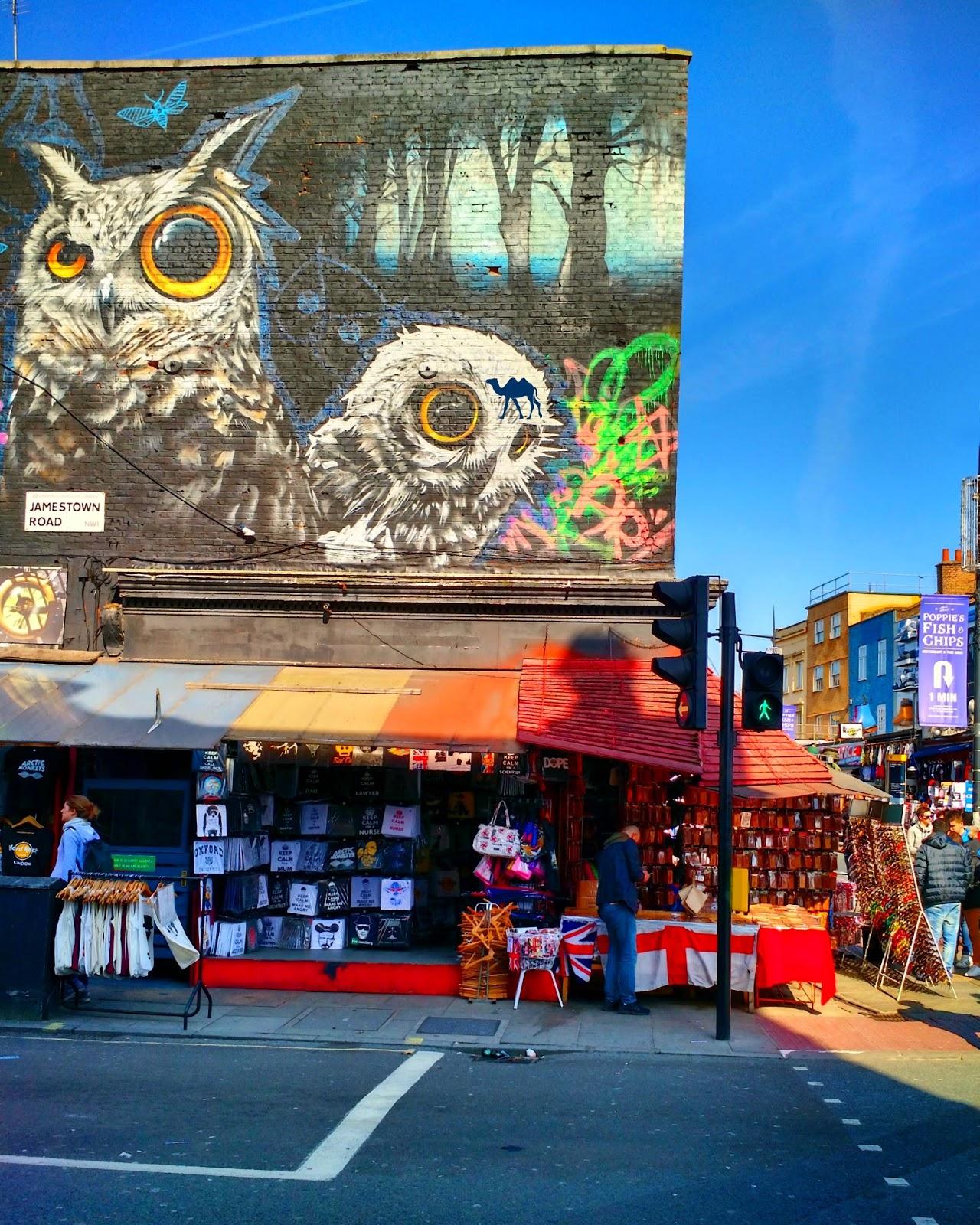 Le Chameau Bleu - Camden Market