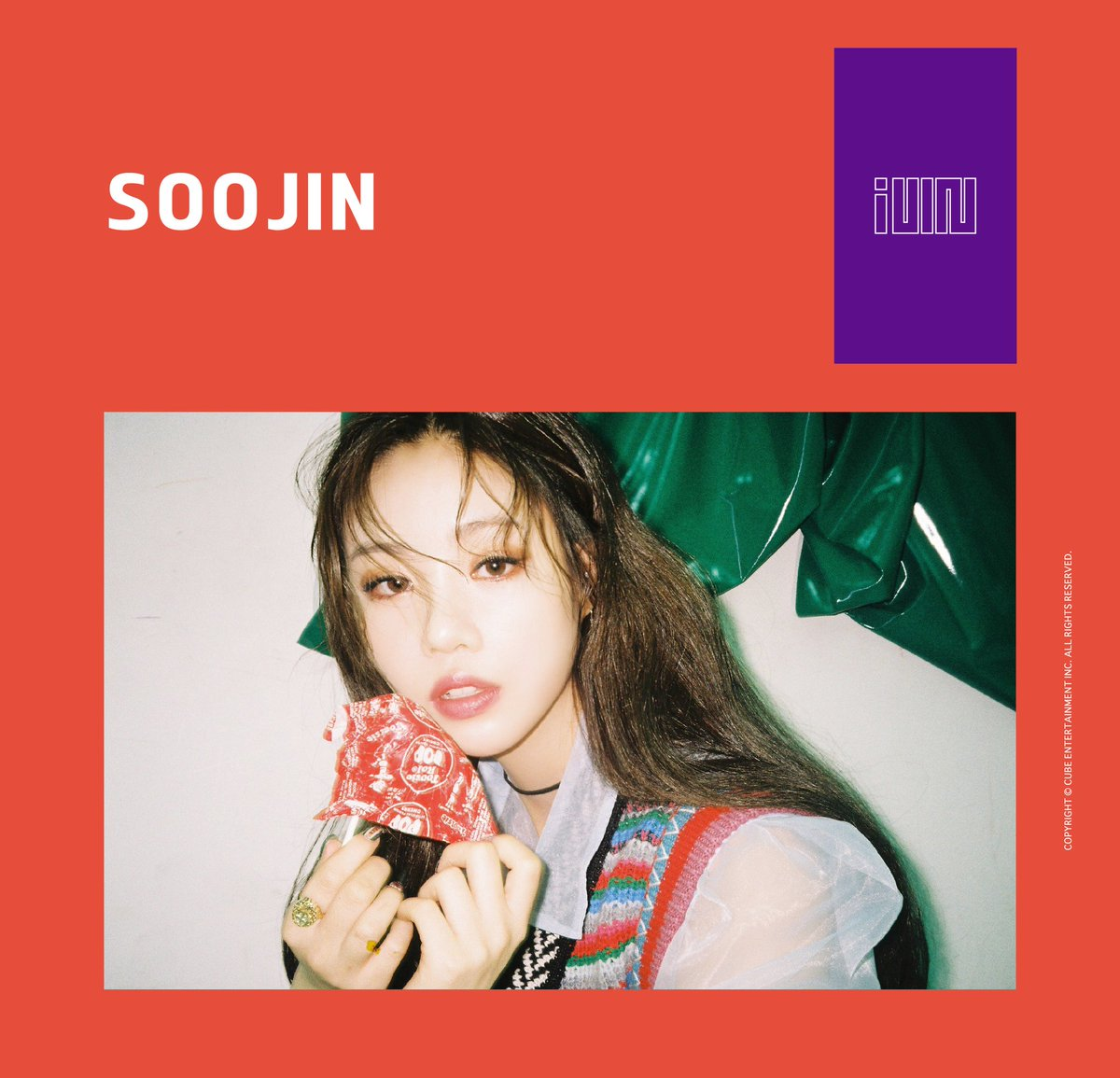 New Girl Group IDLE Teases With Concept Photos Of Soojin