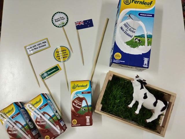 Fernleaf 100% Susu Segar Lagi Berkhasiat dari New Zealand