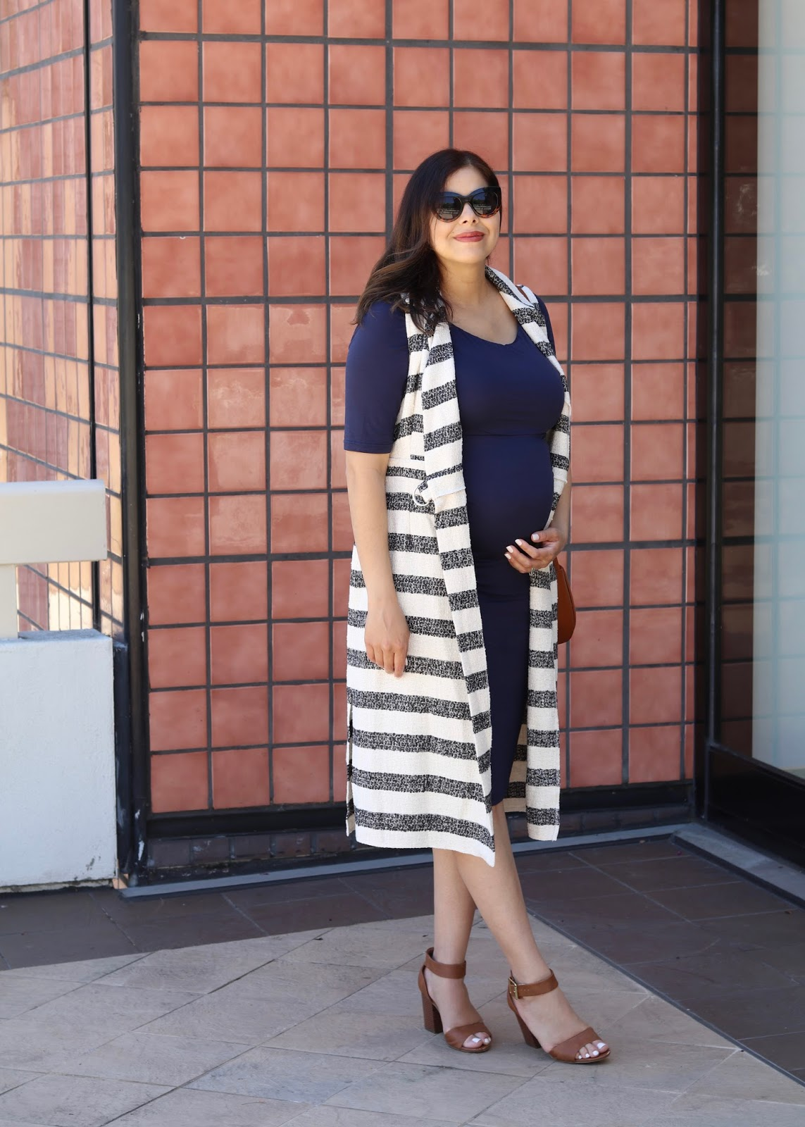 Maternity Style, asos vest