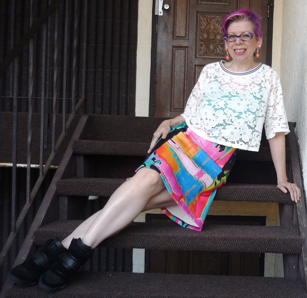 Ephemera Bigass Weekend Wrap Up Two Way Lace Shopping In Dots And Floral Hello Yellow Magenta Force Teal And Pinks