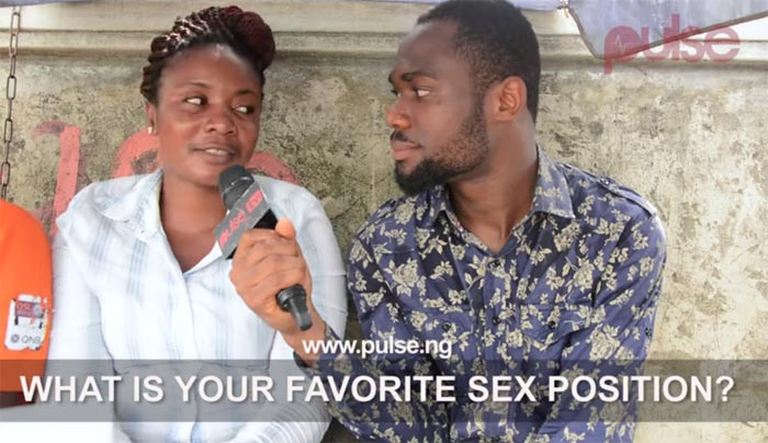Nigerians React: What Is Your Favorite Sex Position?