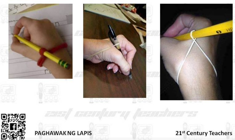 How to Hold and Write with a Pencil