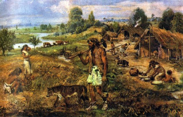 Beginning of civilization_psartworks.in