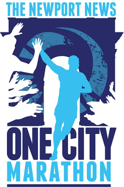 logo of Newport News One City Marathon