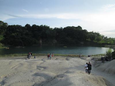 Salah satu danau yang terdapat dikawasan danau biru Cisoka