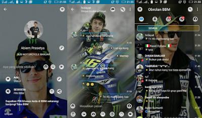 BBM Mod Valentino Rossi Apk [BBM Mod MotoGP Apk]