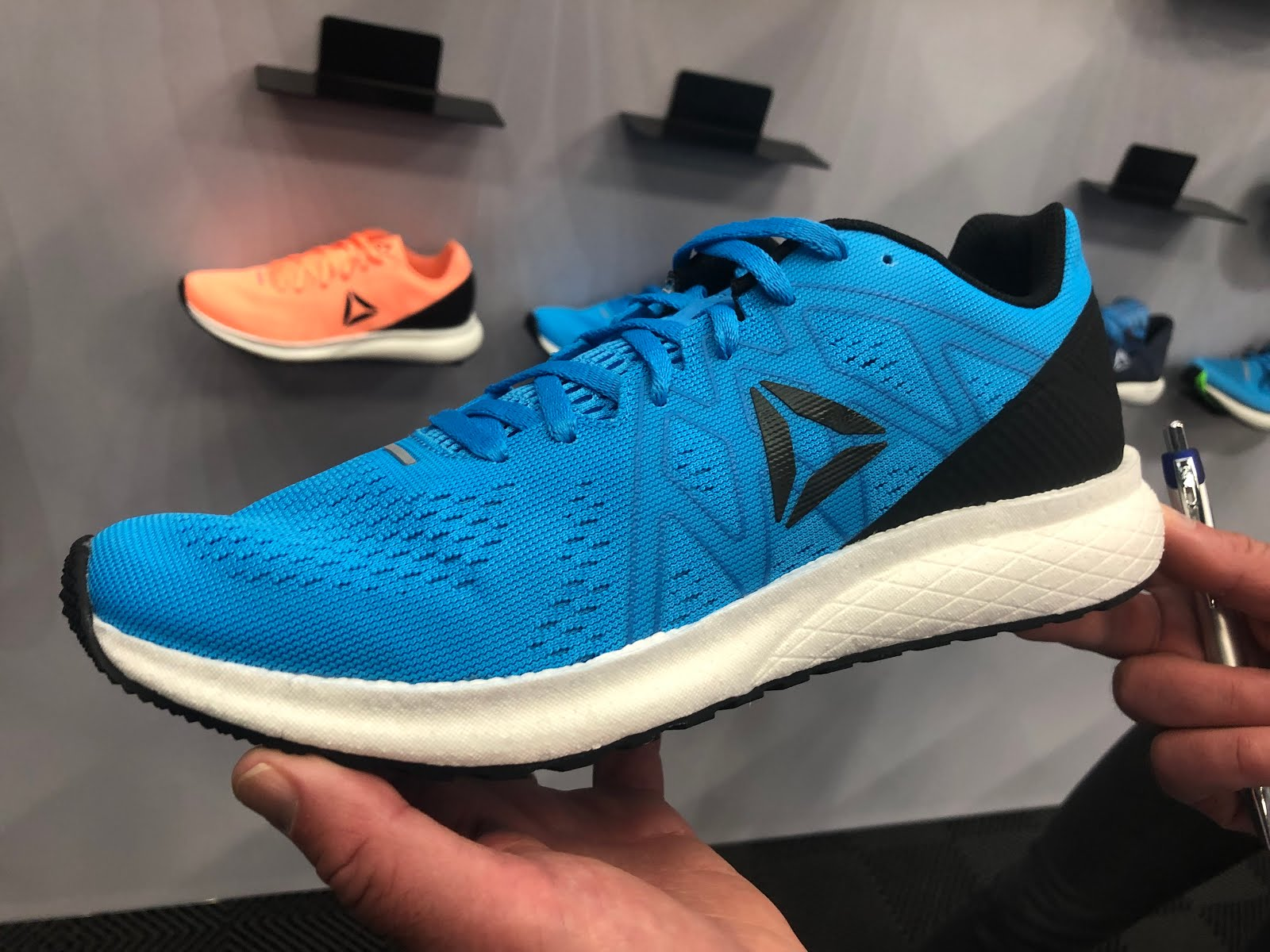 5c232e6fdee The new Energy joins the class of simple lower weight running shoes with  few frills which promise a lively ride and versatility.