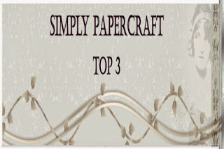 Top 3 Winner at Simply Papercraft