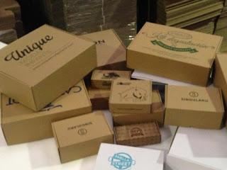 cajas automontables con impresión.