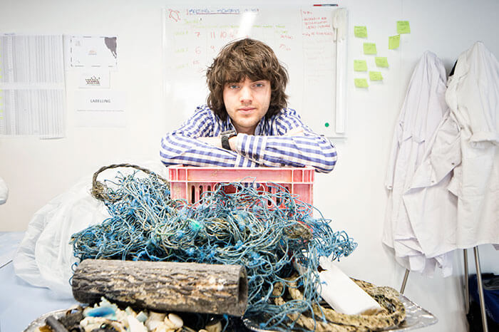 Guy Who Set The World Record At The Age Of 14, Now Aims To Clean The Ocean Of Plastic