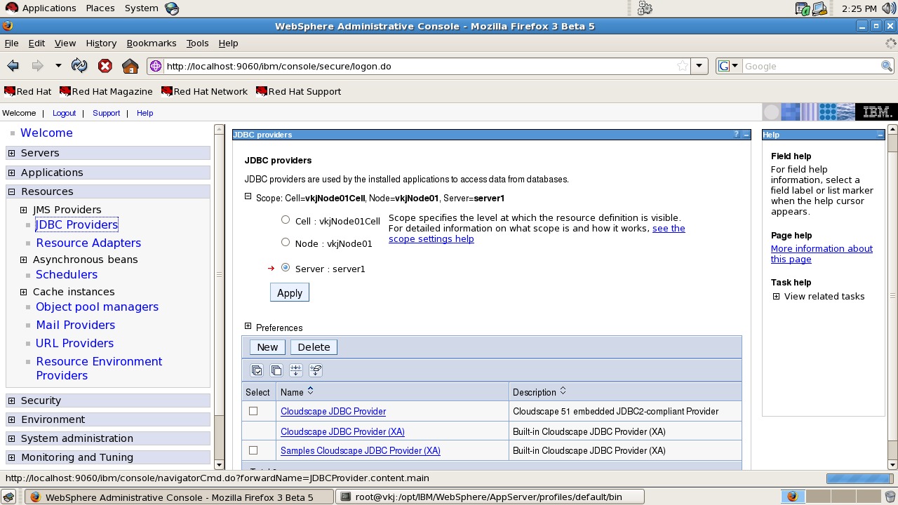 Steps for Db2 JDBC Datasource Configuration in WebSphere