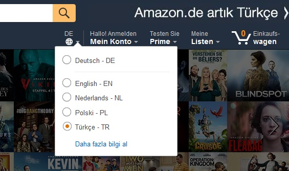 amazon.de turkish