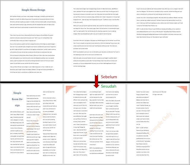 Tampilan hasil keseluruhan Word_1-3a document
