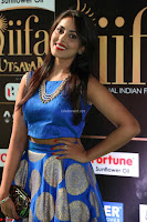 Madhu Shalini Looks Super Cute Slim trim Blue Choli Ghagra IIFA Utsavam Awards 43.JPG