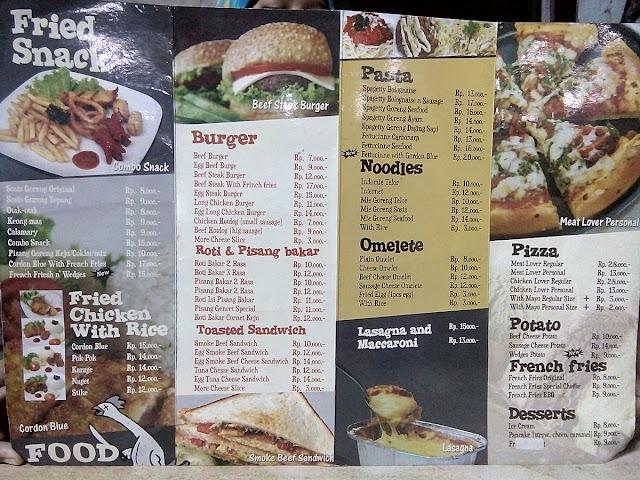 Dapoer Kite - Cafe Ala Kaki Lima - makanan
