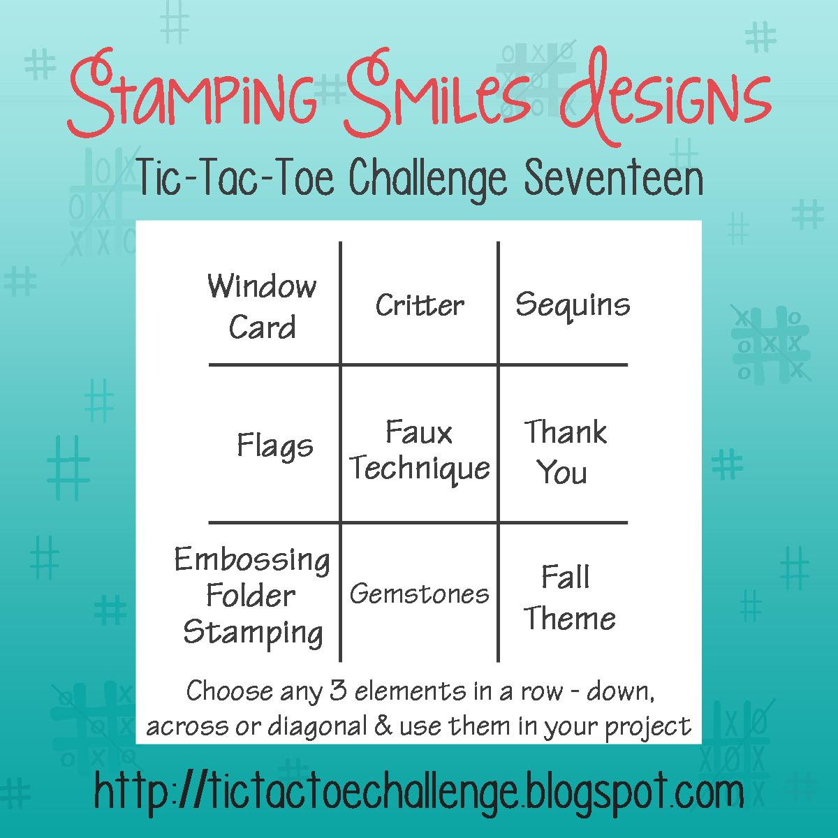 Tic Tac Toe Challenge Challenge 17 Inspiration With Rachel