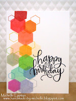 http://handmade-by-michelle.blogspot.com.au/2016/02/rainbow-hexagons.html