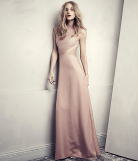 Rose Cut Out Back Dress, H&M Conscious Collection