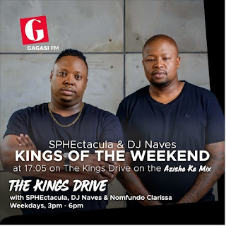 SPHEctacula & DJ Naves – Kings Of The Weekend House Mix November 2018